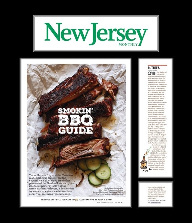 ruthies bbq and pizza nj monthly plaque